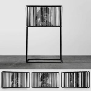 Alessandro Cardinale - Nu Shu - legno+ferro - 2014