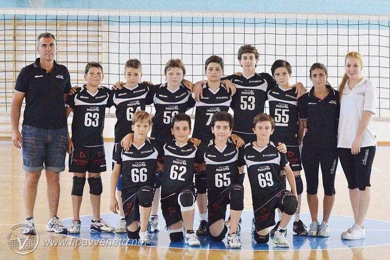Under 14 della Pallavolo Padova in finale Coppa Veneto
