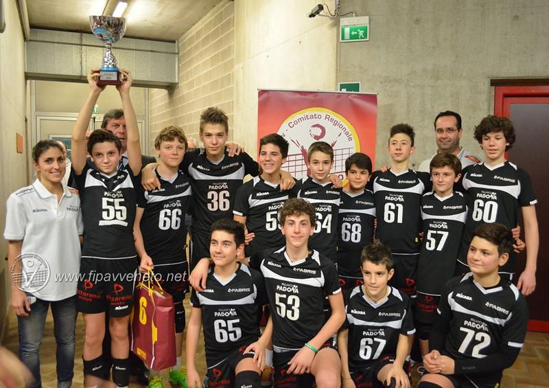 U14: Kio-ene Padova, la Coppa è tua