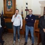 da sx a dx: Ivo Rossi, Alberto Sanavia, Umberto Zampieri, Fabio Cremonese