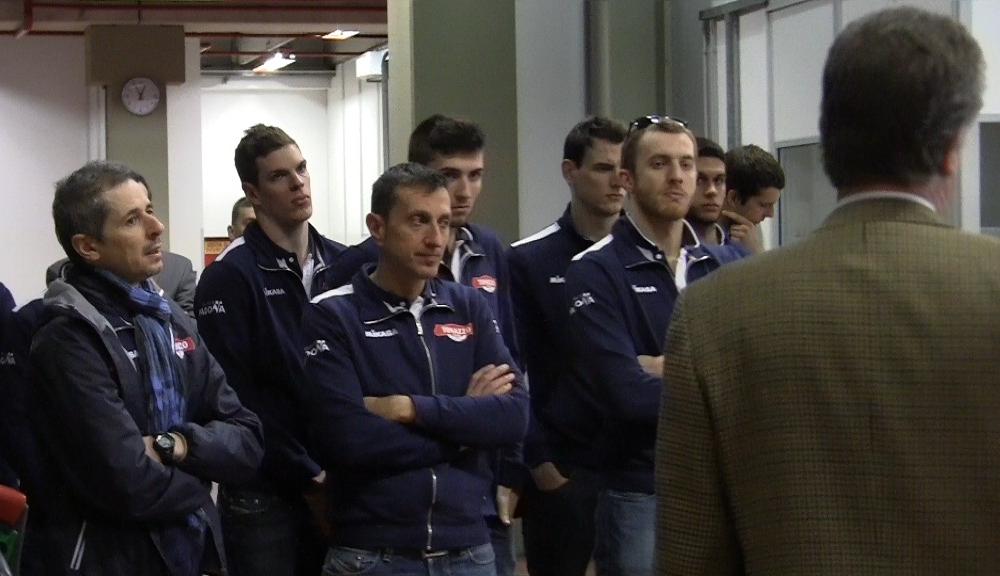 Tonazzo Padova in visita a Fidia Farmaceutici