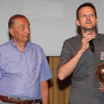 (da sx a dx) Carlo Gobbi (giornalista) e Alberto Sanavia al Premio Stracca 2016/17