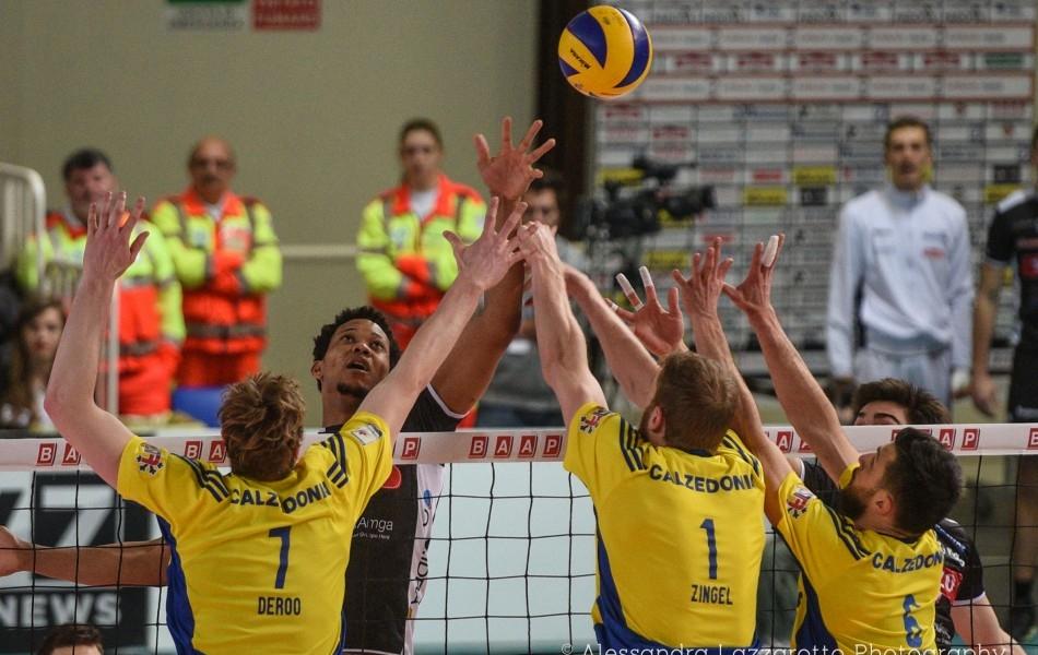 Calzedonia Verona vince, Padova murata