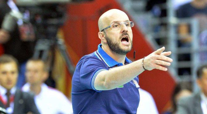 La Tonazzo Padova si allena davanti a Mauro Berruto