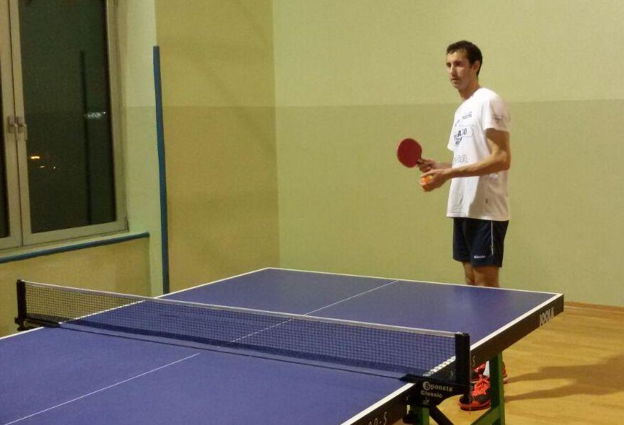 Andrea Garghella, dal volley al tennistavolo