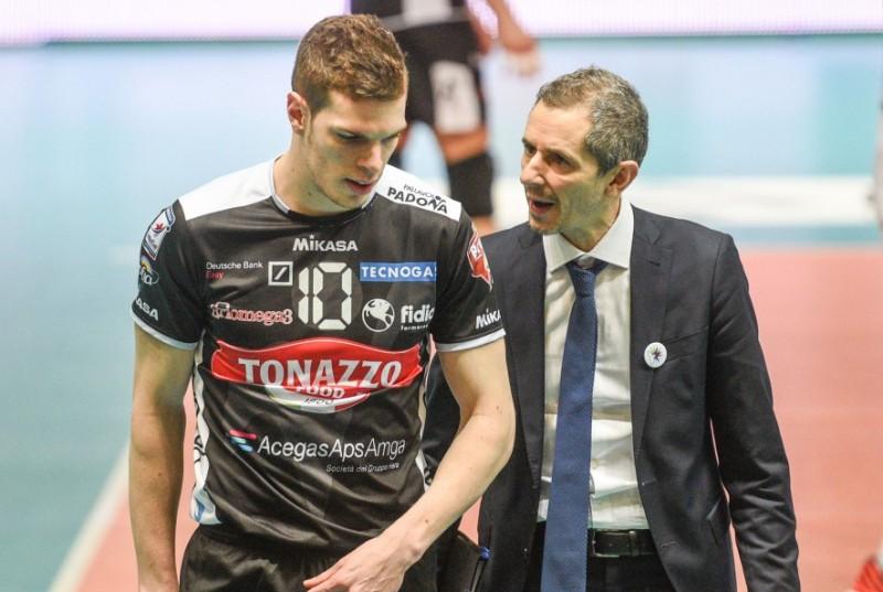 La Tonazzo riparte da coach Valerio Baldovin