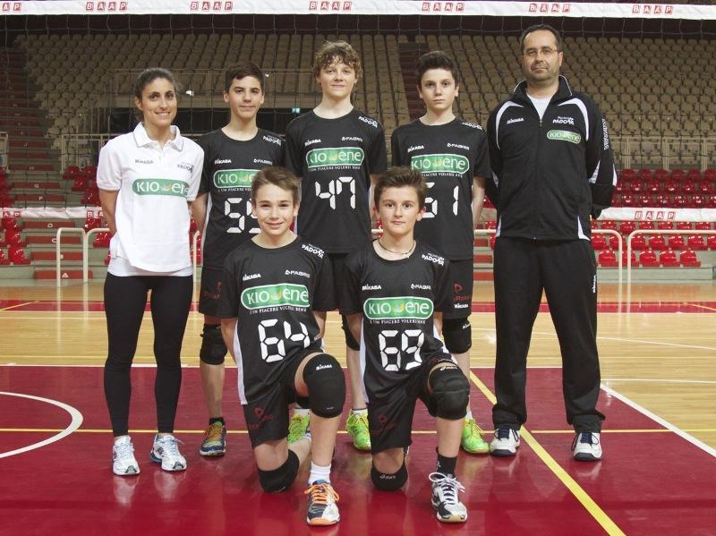 Kio-Ene Padova Under 13 3×3 campioni d'Italia