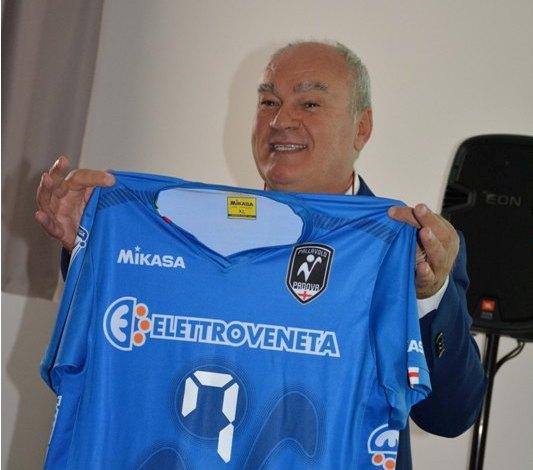 Elettroveneta sponsor di maglia di Fabio Balaso
