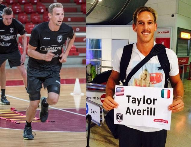 Taylor Averill arrivato a Padova