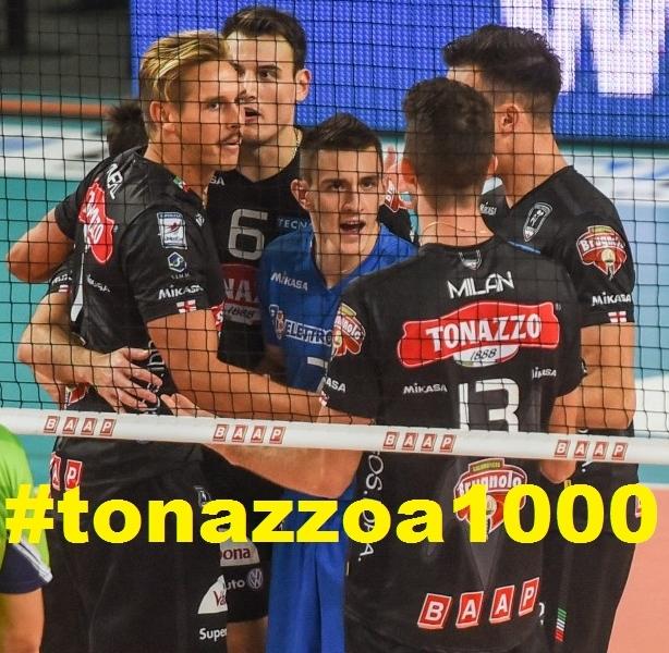 Con Civitanova, #tonazzoa1000