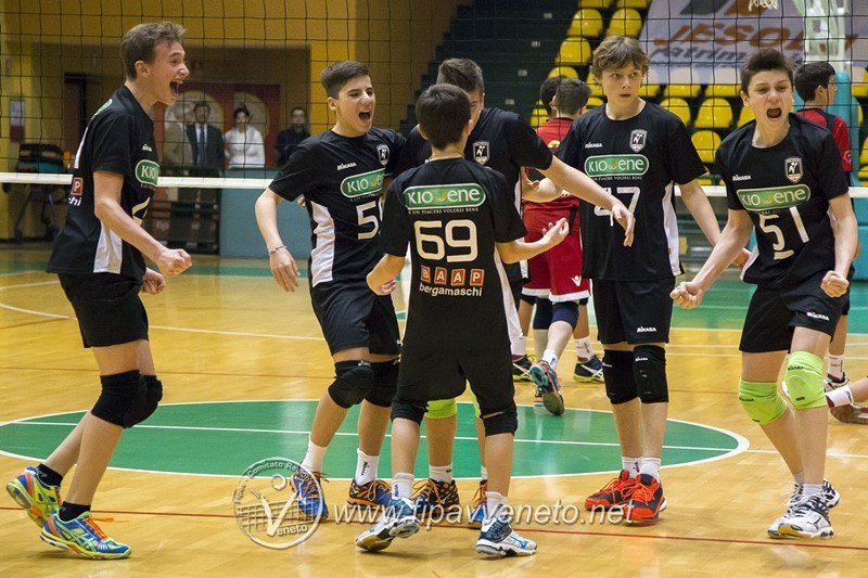 Under 14: Kioene Padova trionfa in Coppa Veneto