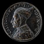 Moneta con l'effige di Cristoforo Moro