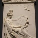 La stele Giustiniani al museo civico Eremitani di Padova