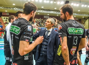 Valerio Baldovin confermato sulla panchina della Kioene Padova