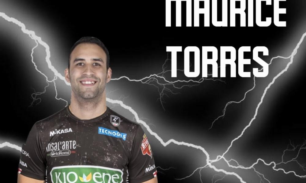 E' ufficiale: Maurice Torres alla Kioene Padova