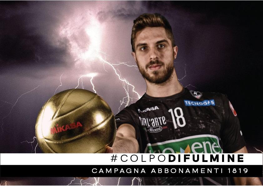 Kioene Padova: campagna abbonamenti 2018/19 #colpodifulmine