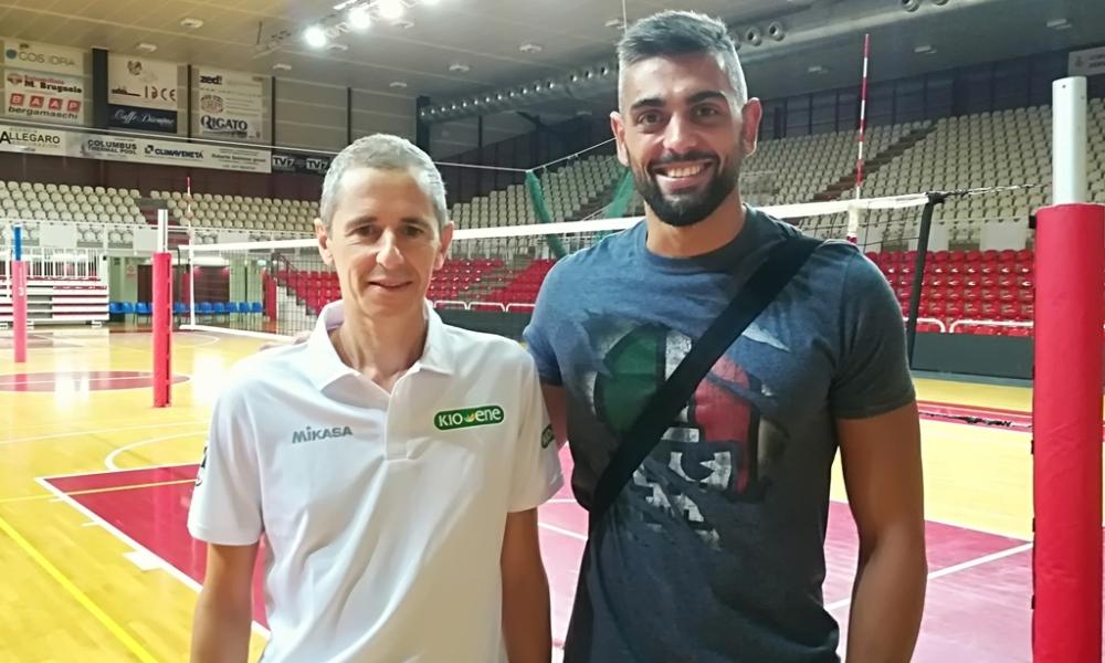 Giulio Sabbi si allena a Padova