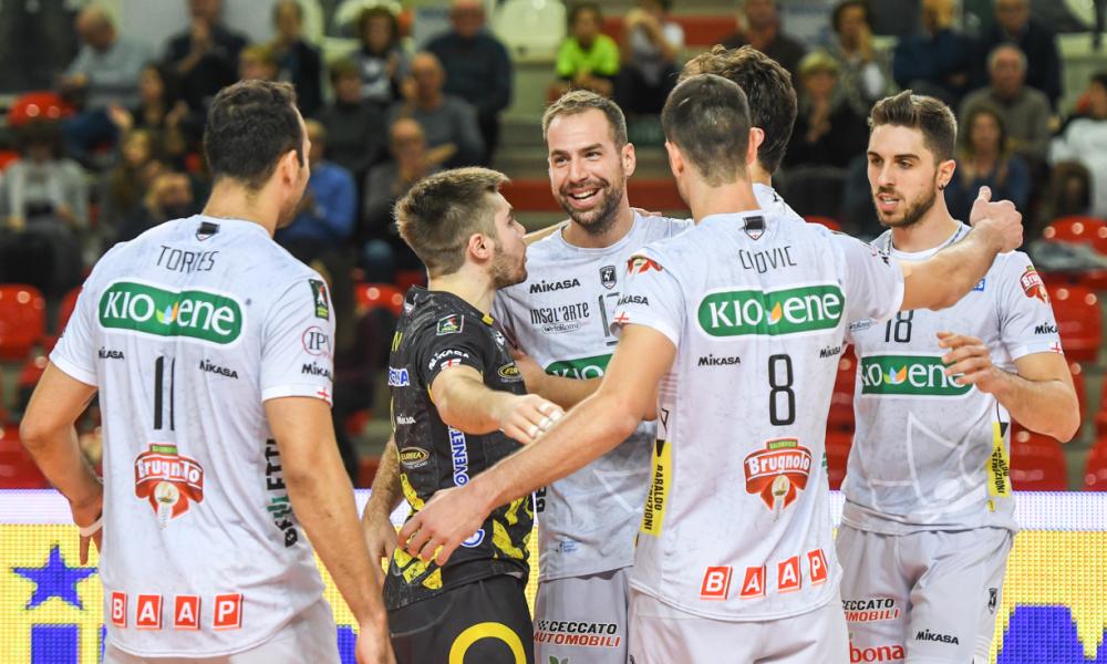 Kioene pronta ad affrontare i campionissimi di Perugia