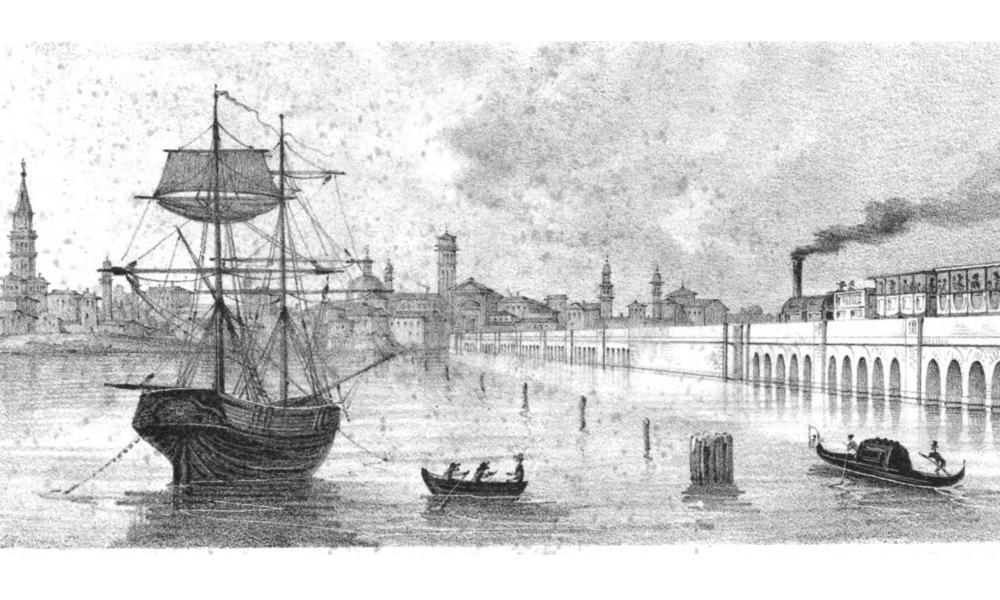 La storia del Ponte della Libertà che trasformò Venezia in penisola