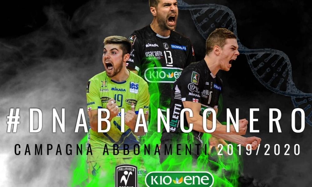 #DNAbianconero: campagna abbonamenti Kioene Padova 2019/20