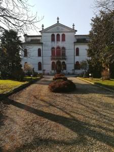Viale d'ingresso di Villa Sagredo