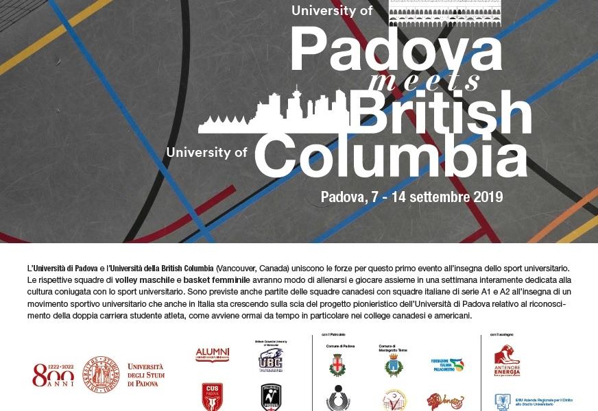 Padova meets British Columbia