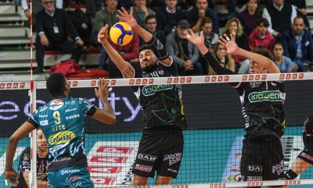 Kioene Padova a Perugia per la Coppa Italia