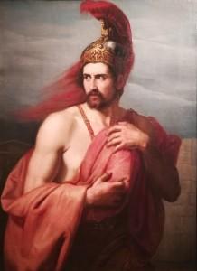 Diomede fugge nascondendo il Palladio - Vincenzo Giacomelli