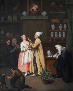 Il farmacista - Pietro Longhi