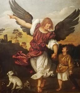 L'Arcangelo Raffaele e Tobiolo - Tiziano Vecellio