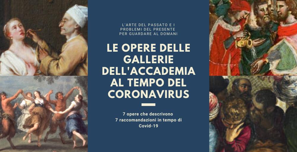 Le opere delle Gallerie dell'Accademia al tempo del Coronavirus