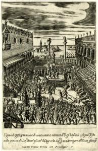 Tori a Venezia, Giacomo Franco, 1610